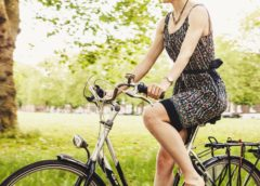 Damskie ubrania na rower